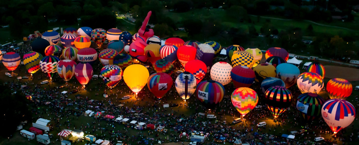 the great forest park balloon race st louis mo