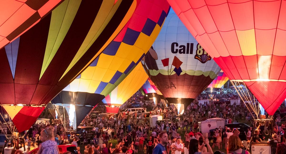 Balloons firing up