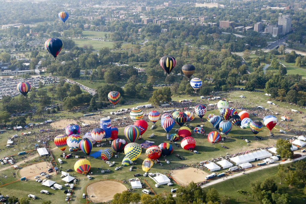 GFPBR21 – Great Forest Park Balloon Race